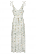 Alexandra Citrus maxi dress
