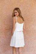 Poppy White dress