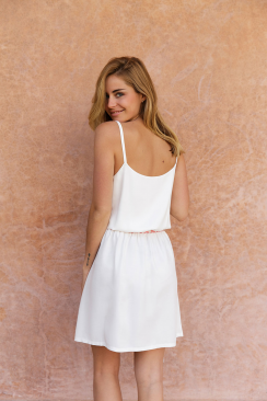 Robe Poppy White