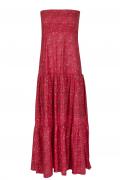 Charlotte Ruby bustier dress