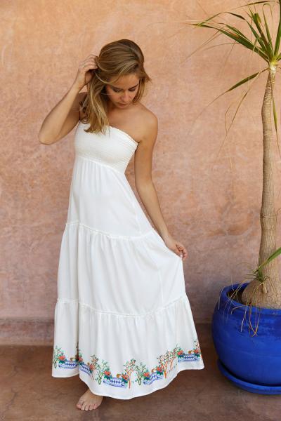 Charlotte Toscane bustier dress