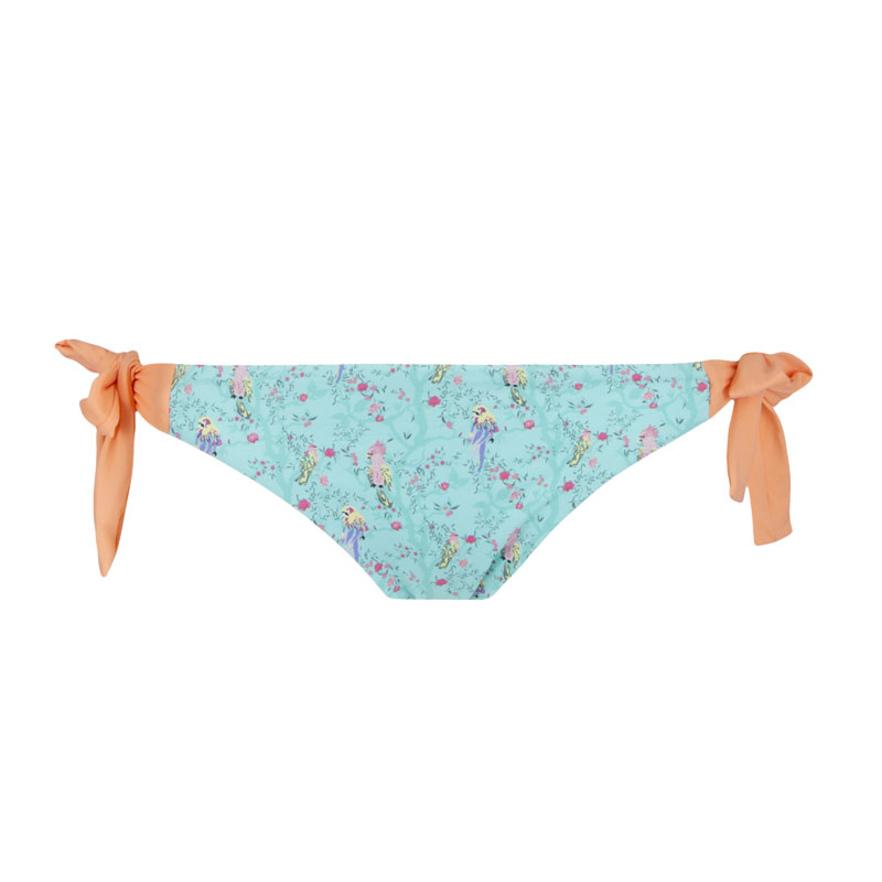 Lisa AQUA knotted bottom