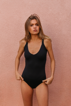 Olivia Racing One Piece Black