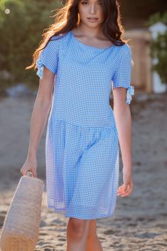 India Bluebell dress