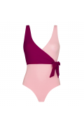 Laetitia Pink one-piece