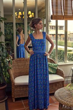 Chiara Aloha maxi dress