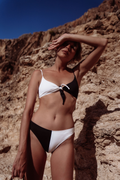 Paloma top & Alix bottom B&W