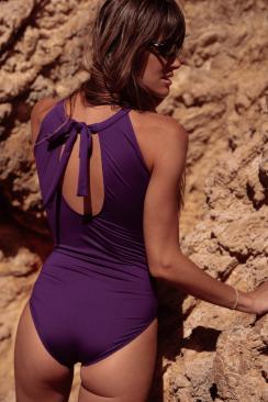 Une pièce Saskia Purple