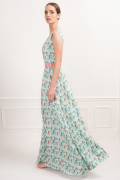 Robe longue Chiara Gardenia
