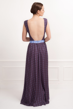 Chiara Storm maxi dress
