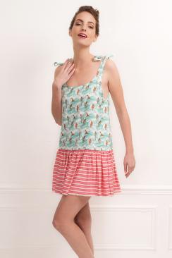 Macha Gardenia mini dress